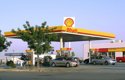 Shell Gas Station picture